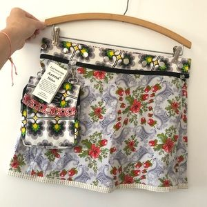 Zand Amsterdam Reversible Snap Skirt and Pouch